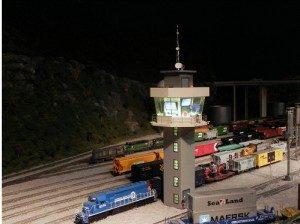 Figure 6 Modern Yard Control Tower