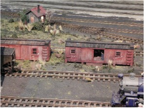 Figure 3. Recycling, Railroad Style