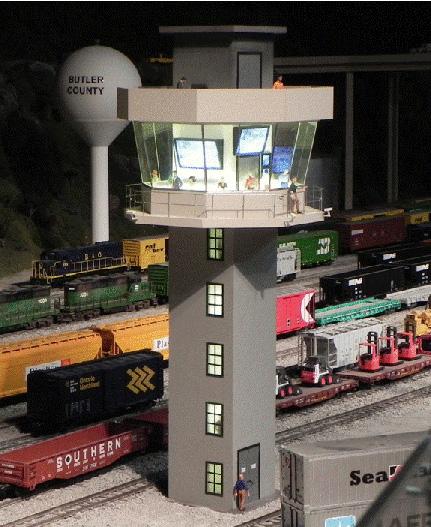 Figure 10.  The Modern Yard Control Tower