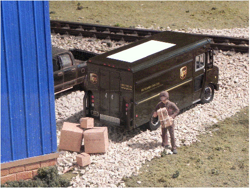 Figure 3.  UPS Delivery