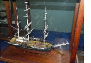 "Figure 2. Whaler ""Charles W. Morgan"""