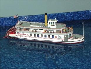 Figure 4.  Stern-Wheel Steamboat