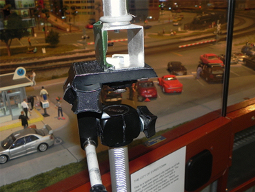 Figure 3.  Mounting of the Tripod Extension