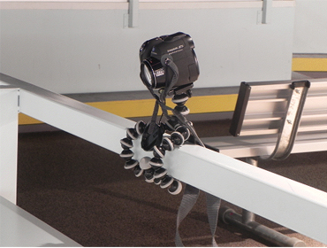 Figure 4.  Gorillapod in Conventional Mounting