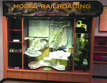 Figure 3.  Model Railroading Display