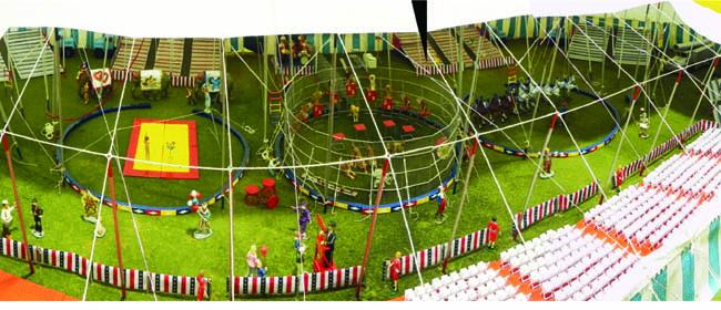 Figure 2.  Inside the Main Circus Tent