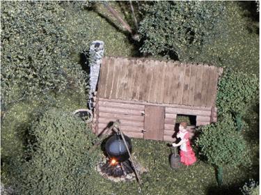 Figure 5.  Settler's Cabin