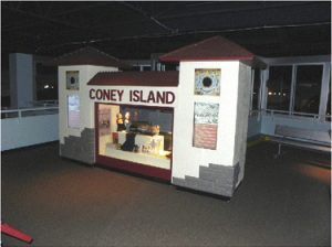 Figure 1. Coney Island History Kiosk