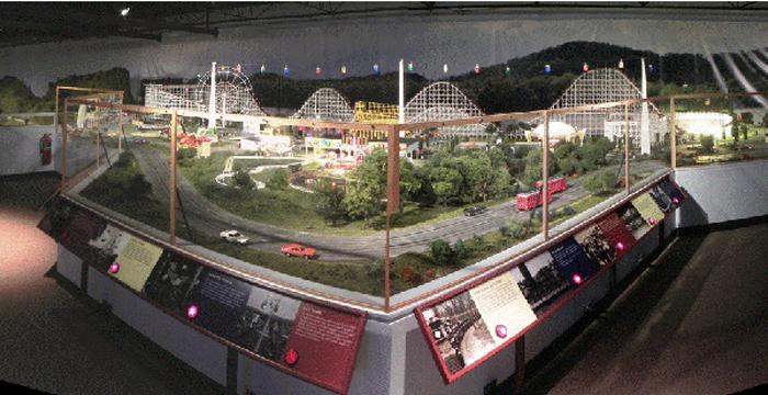 Figure 2.  Coney Island Model Control Panels