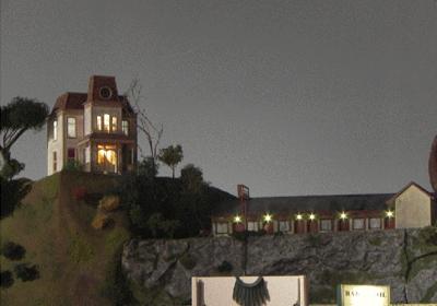 Figure 3.  Bates Mansion and Motel