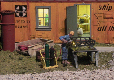 Figure 6.  Welder with Tools