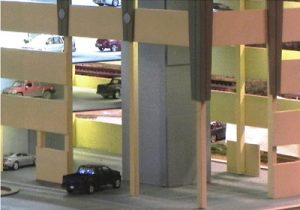 Figure 5. Before- Entrance to the Parking Structure
