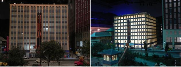 Figure 3- Before and After Revised Interior Lights