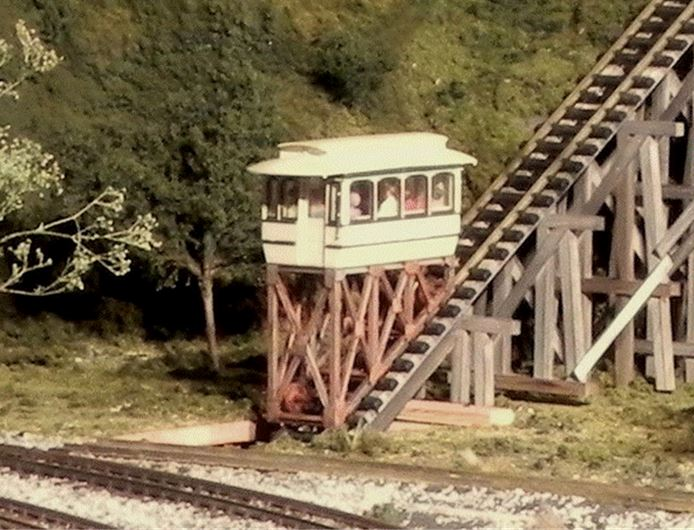 Figure 2.  Inclined Railway Car and Support Structure
