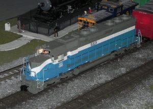 Figure 5. EJ Paint Scheme Locomotive
