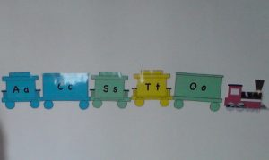 Teaching with Trains