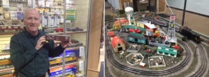 Tiny Ted trains