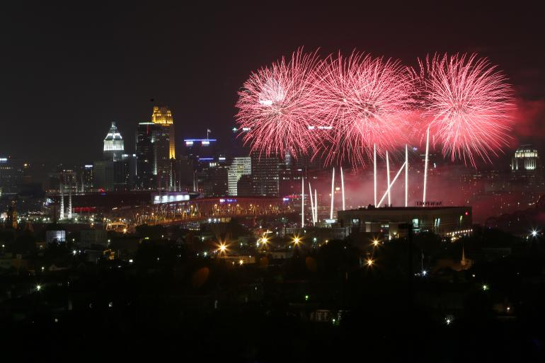 Cincinnati Fireworks | Cincinnati Labor Day