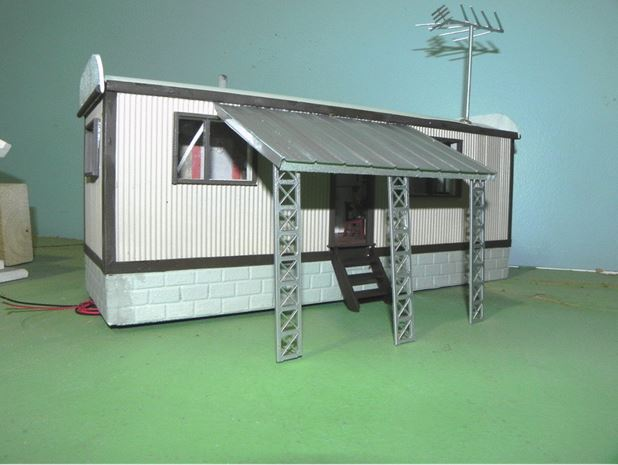 Figure 1.  Mobile Home with Awning