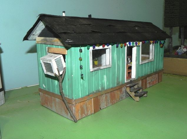 Figure 2.  Mobile Home with Swamp Cooler