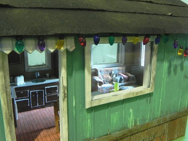 Figure 3 Interior Detail of the Swamp-Cooler Mobile Home