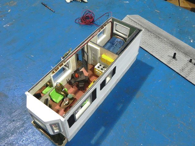 Figure 4.  Bay-Window Mobile Home Interior Detail 1