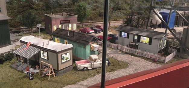 Figure 1.  Mobile Homes on Location