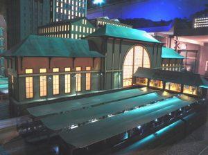 Figure 6. Union Station with Interior Lights