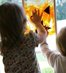 Toddler Halloween Activity