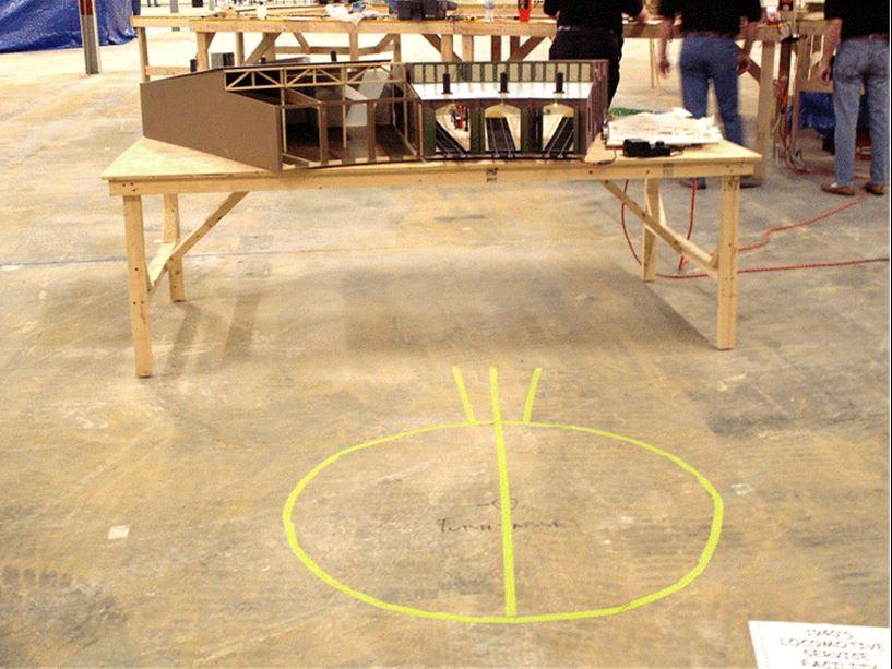 Figure 2.  EJ Volunteer Open House Display (6 Jan 2007)