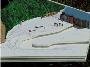 Figure 2. Planning Model of the Modern Yard (6 Aug 2006)