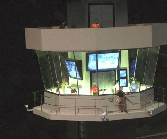 Figure 8. The Yard Control Tower (11 Apr 2011)