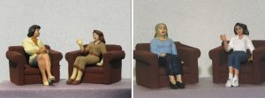 Sitting Ladies