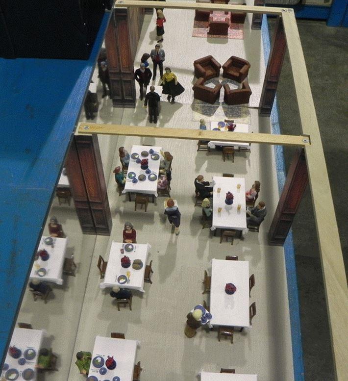 Figure 6.  Hotel Restaurant Overview