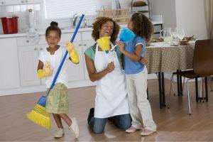 Fun Cleaning Kids