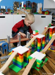 Creative Building and Train