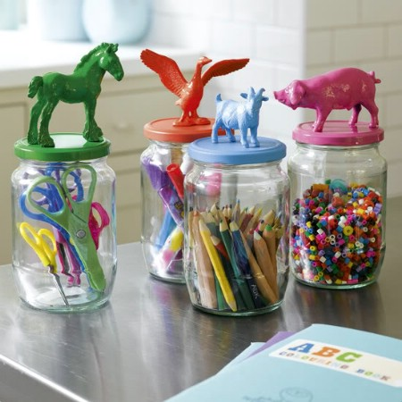 Animal Storage Jars