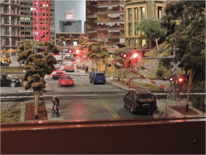Figure 6 Modern City Grade Crossing