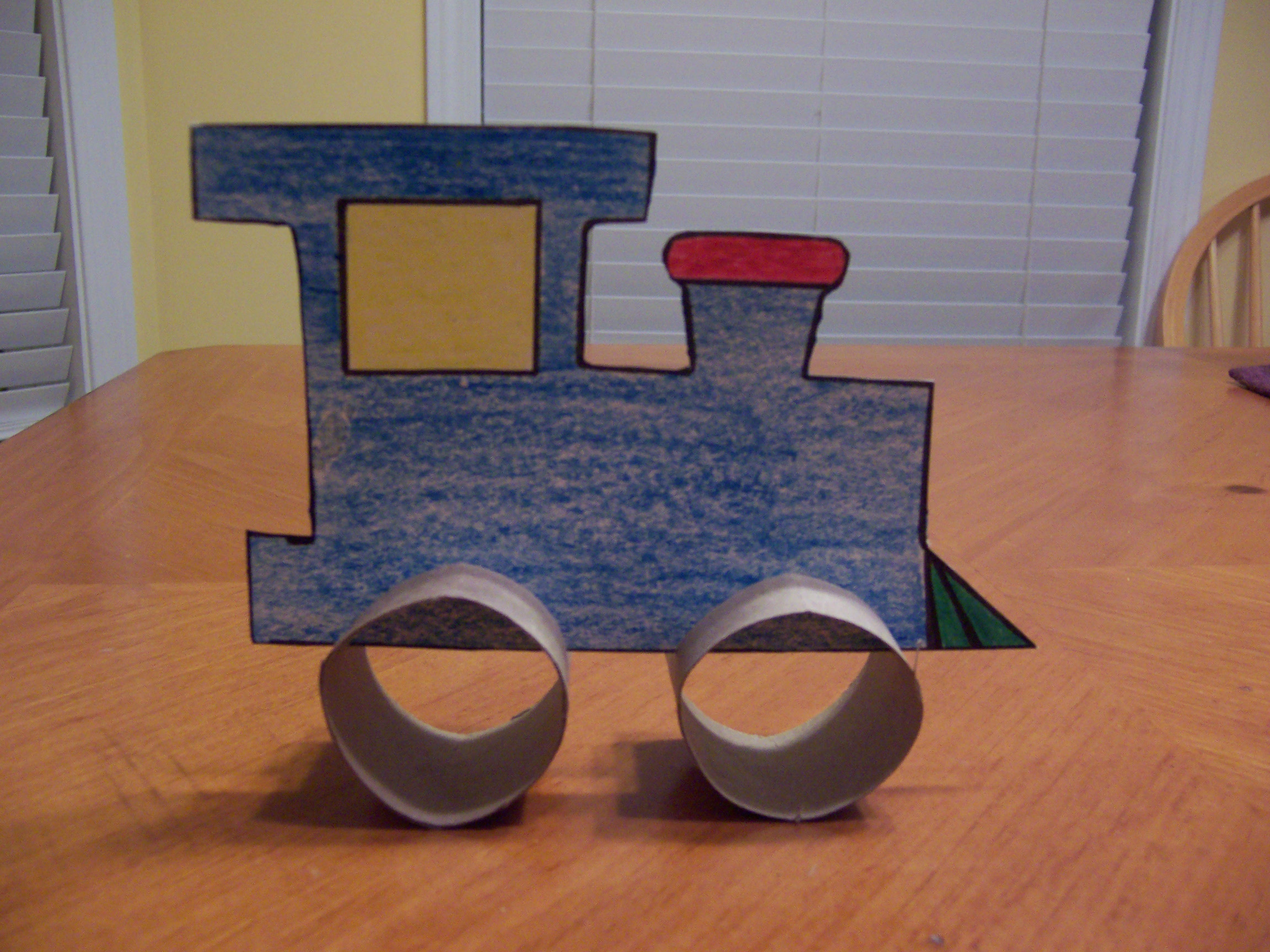 Train Crafts for Kids | Entertrainment Junction