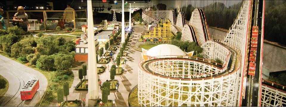 Historic Coney Island replica at EnterTRAINment Junction