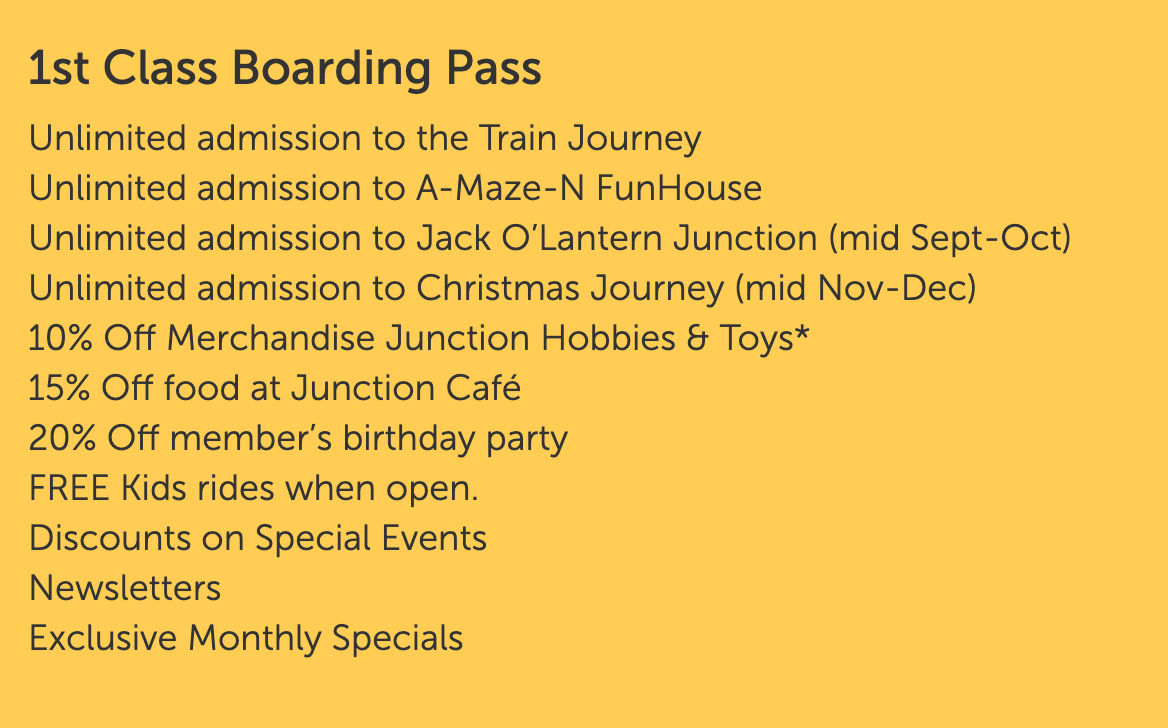 First Class boarding pass for Train Journey