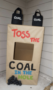 coal in the hole tossing game