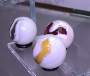 wedding cake marbles