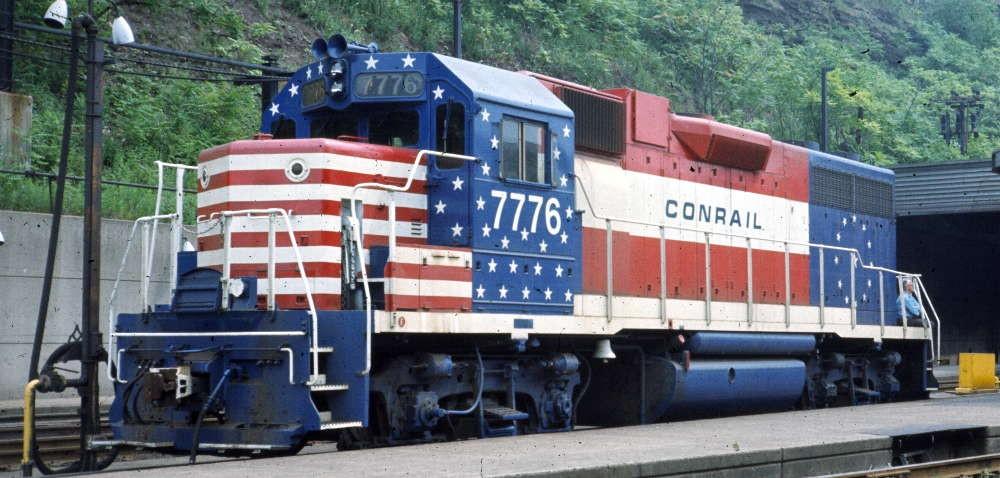 Patriotic Train