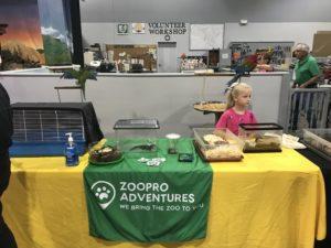 ZooPro table