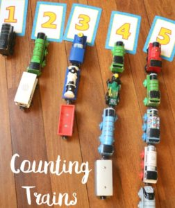 counting trains