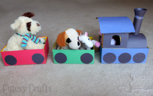 shoe box train