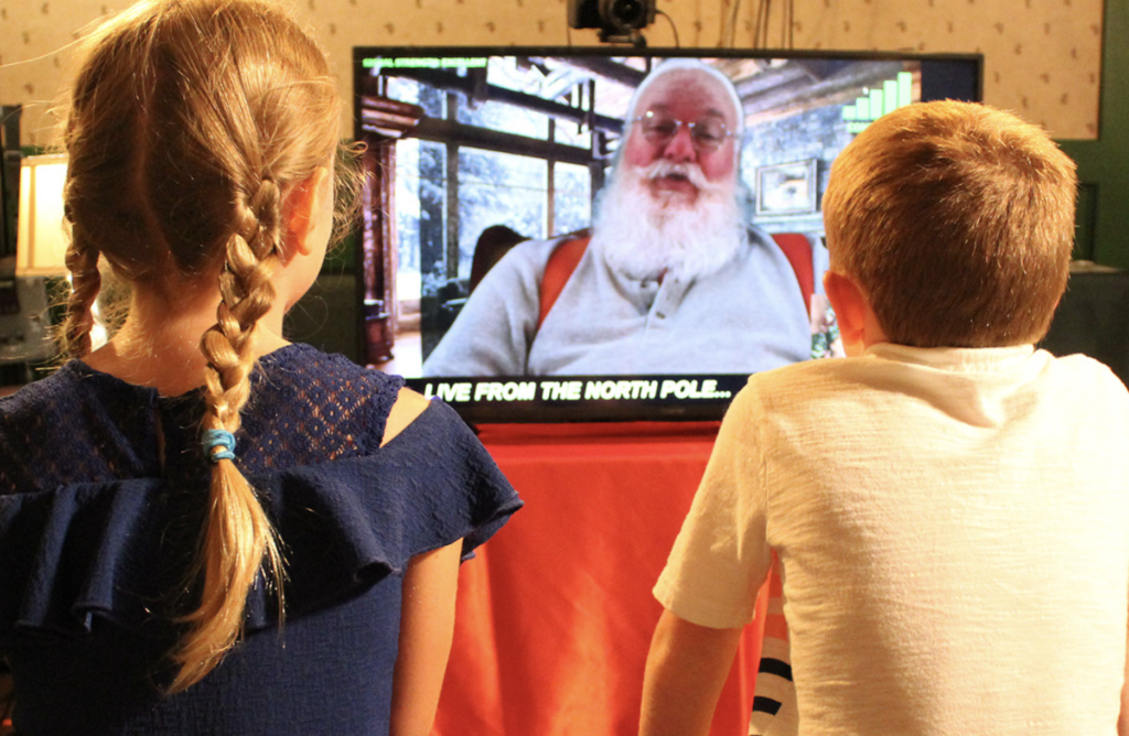 video call with Santa