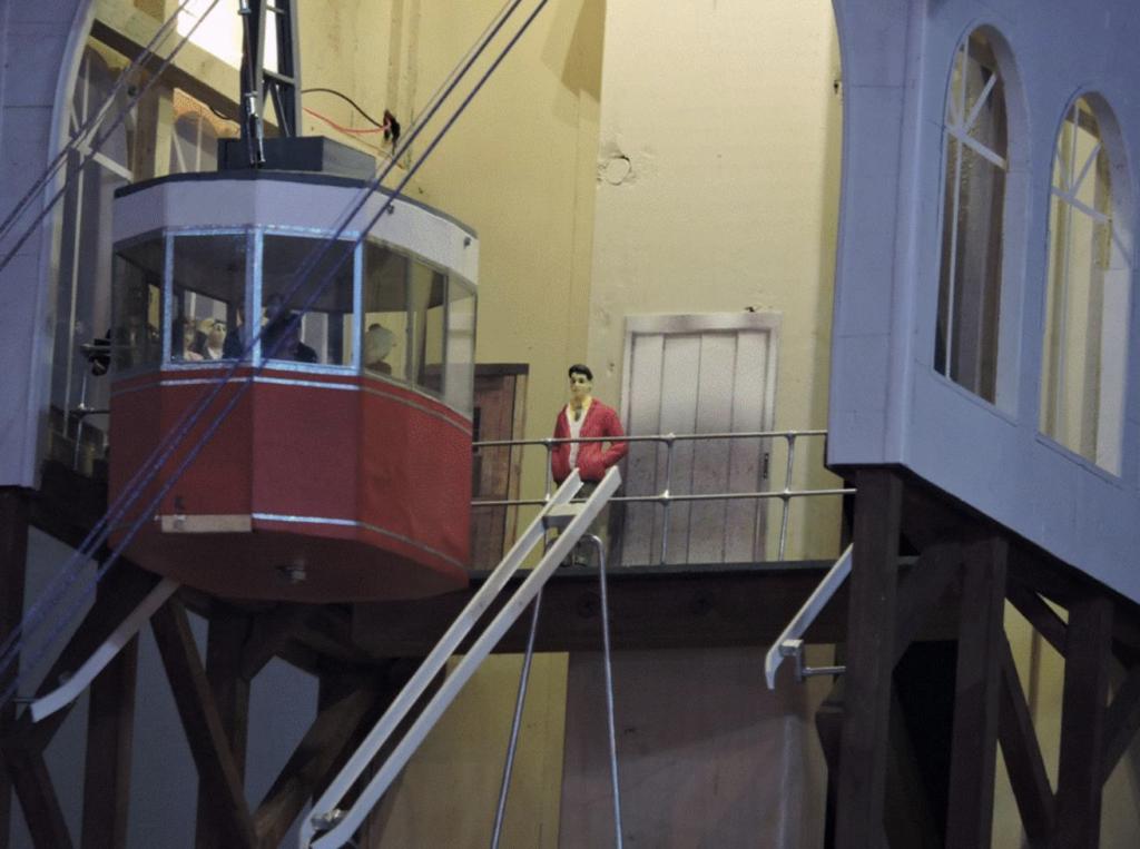 Figure 3. Elevator Door Installed