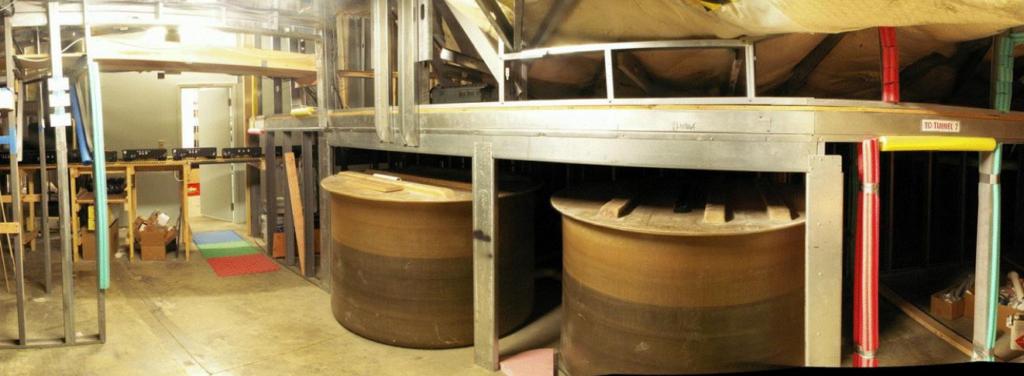 Figure 1.  Live-Water Tanks